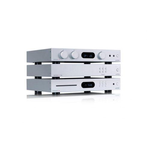 Audiolab 6000 sztereó szett III  (6000A + 6000CDT + 6000N Play) - ezüst