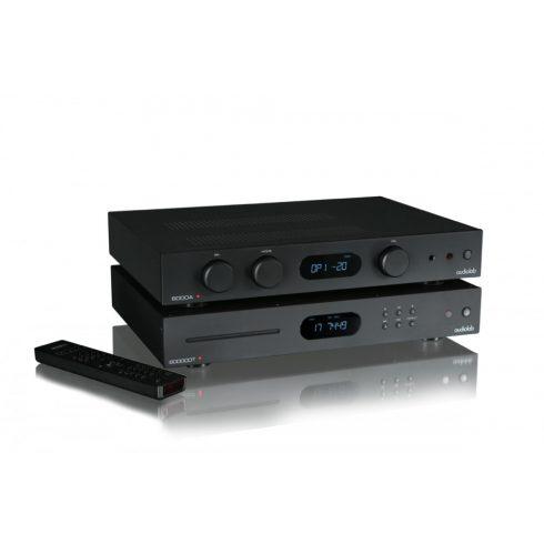 Audiolab 6000 sztereó szett (6000A + 6000CDT) - fekete