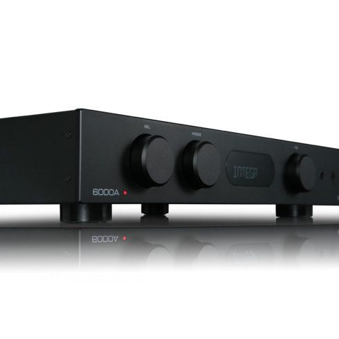 Audiolab 6000A erősítő + Wharfedale EVO 4.1 hangfal, szettben - fekete/dió