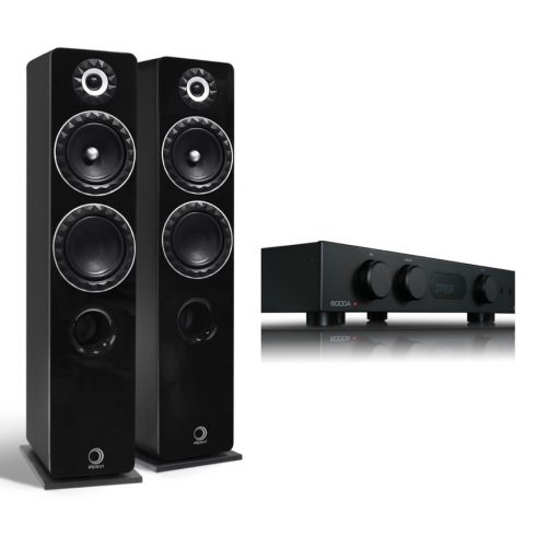 Audiolab 6000A + Elipson Prestige Facet 14F - fekete/fekete