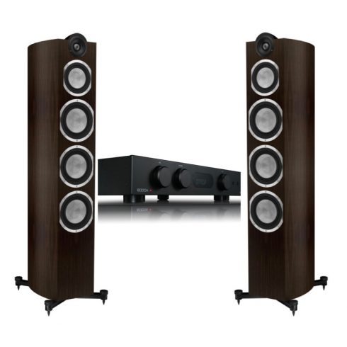 Audiolab 6000A + Taga Harmony Platinum F-120 v.3 - fekete/modern wenge