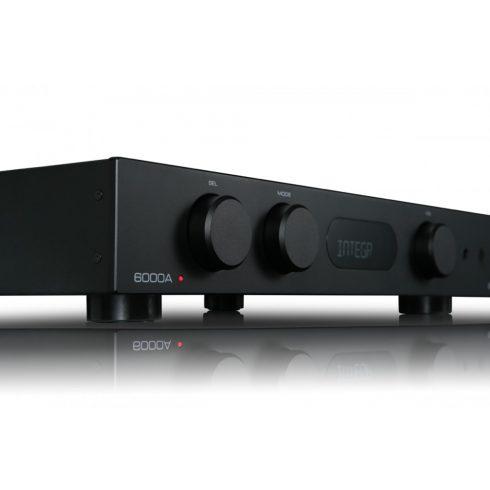 Audiolab 6000A erősítő + Kef Q350 hangfal, szettben - fekete/dió
