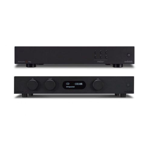 Audiolab 8300A sztereó erősítő + 6000N Play hálózati lejátszó - fekete, szett