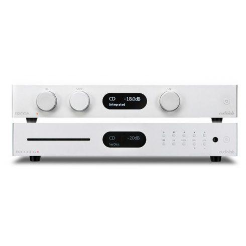 Audiolab 8300A sztereó szett I. (8300A + 8300CDQ) - ezüst, szett