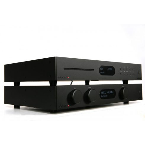 Audiolab 8300A sztereó szett I. (8300A + 8300CDQ) - fekete, szett