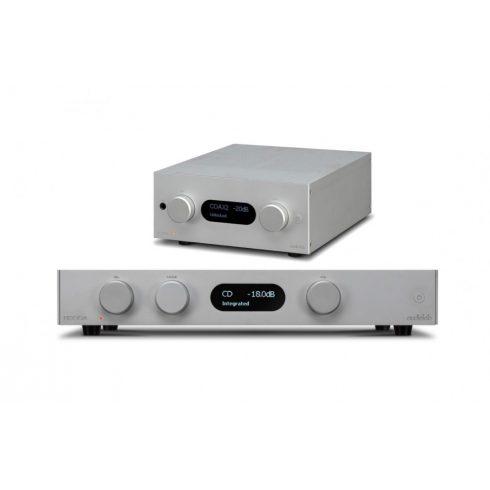 Audiolab 8300A sztereó szett II. (8300A + M-DAC+) - ezüst, szett
