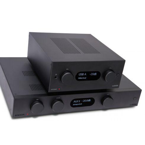 Audiolab 8300A sztereó szett II. (8300A + M-DAC+) - fekete, szett