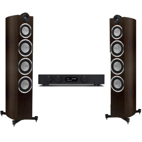 Audiolab 8300A  + Taga Harmony Platinum F-120 v.3 - fekete/modern wenge