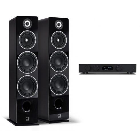 Audiolab 8300A  + ElipsonPrestige Facet 24F - fekete/fekete