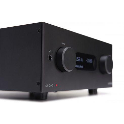 Audiolab M-DAC+  fekete + értékes ajándék vagy azonnali árengedmény!