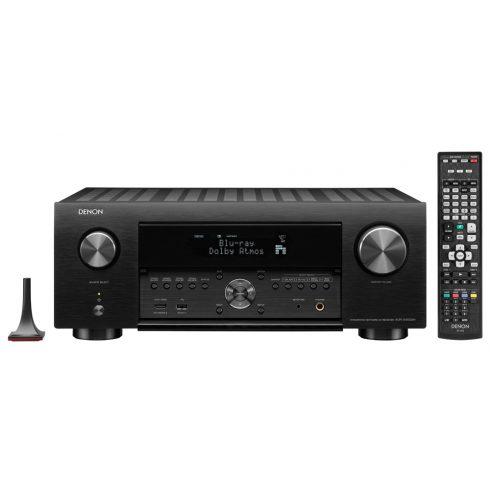 Denon AVR-X4500H 9.2 - fekete + értékes ajándék vagy azonnali árengedmény!