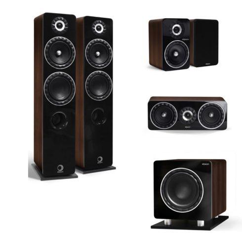 Elipson Prestige Facet 14F 5.1 hangfalszett - dió + választható ajándék!