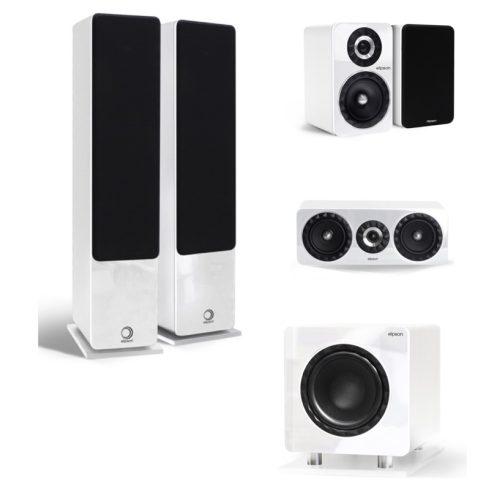 Elipson Prestige Facet 14F 5.1 hangfalszett - fehér + választható ajándék!