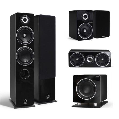 Elipson Prestige Facet 14F 5.1 hangfalszett - fekete + választható ajándék!