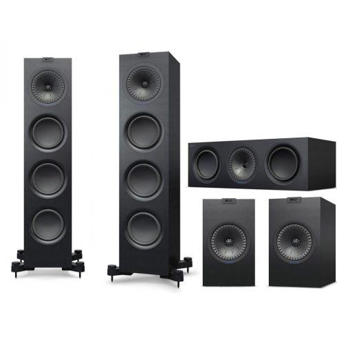KEF Q750 5.0 hangfalszett- fekete + választható ajándék!