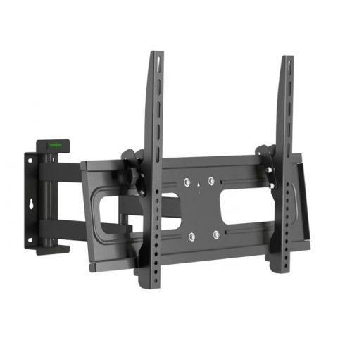 NorStone Skye D3770 univerzális fali TV konzol fekete