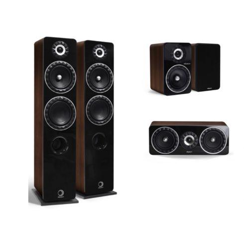 Onkyo TX-NR686 7.2 házimozi erősítő + Elipson Prestige Facet 14F 5.0 hangfalszett - fekete/dió