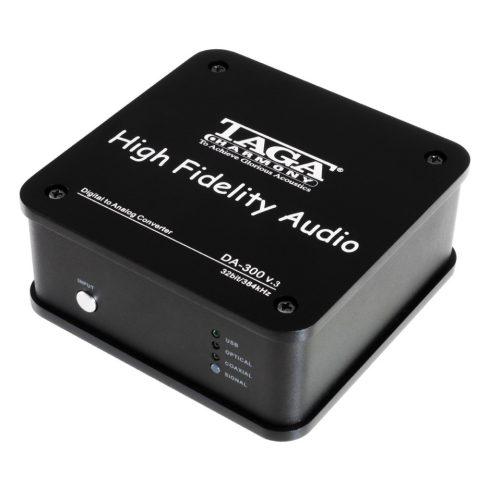 Taga Harmony DA-300 v.3 D/A konverter - fekete + Választható Kedvezmény!