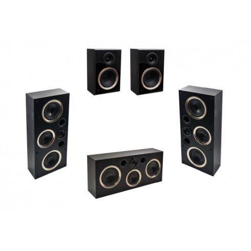 Taga Harmony OW-60 LCR 5.0 hangfalszett - fekete
