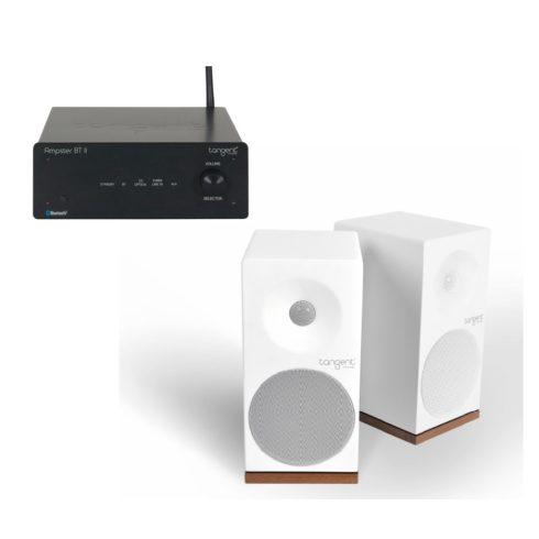 Tangent AmpsterII X4 sztereó rendszer- fekete/szatén fehér