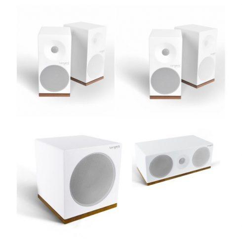 Tangent Spectrum X4 5.1 hangfalszett - szatén fehér