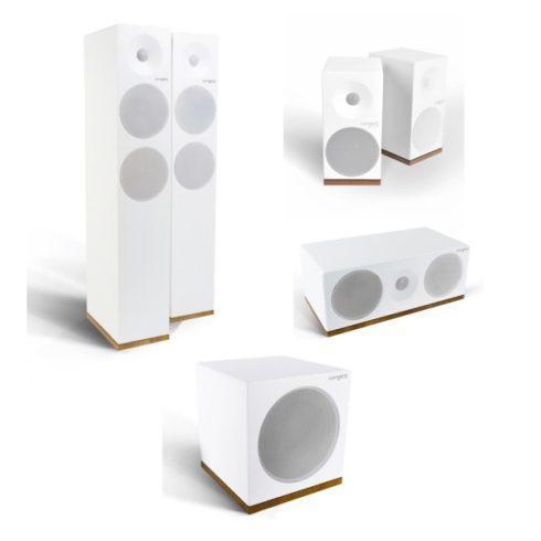 Tangent Spectrum X6 5.1 hangfalszett - szatén fehér