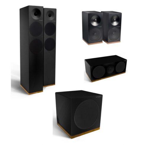 Tangent Spectrum X6 5.1 hangfalszett - szatén fekete