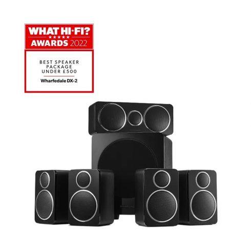 Wharfedale DX-2 5.1 hangfalszett - fekete