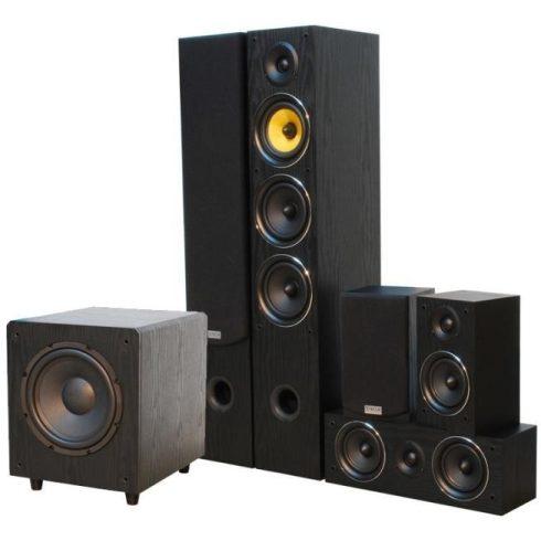 Yamaha RX-V4A 5.2 házimozi rádióerősítő + TAGA HARMONY TAV 506 V.2 5.1 hangfalszett - fekete/fekete